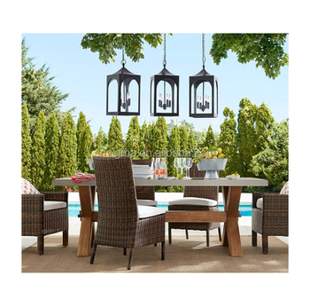 Sigma Marquee Outdoor Furniture Marble Dining Set Pro Garden Plastic Chairs