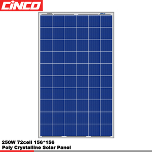 250w poly solar panel Home use high quality long life 4 panel total 1000 watt Solar Panel