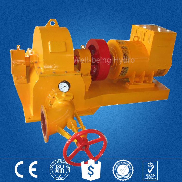 free energy ac synchronous mini 50KW pelton water wheel hydro turbine generator