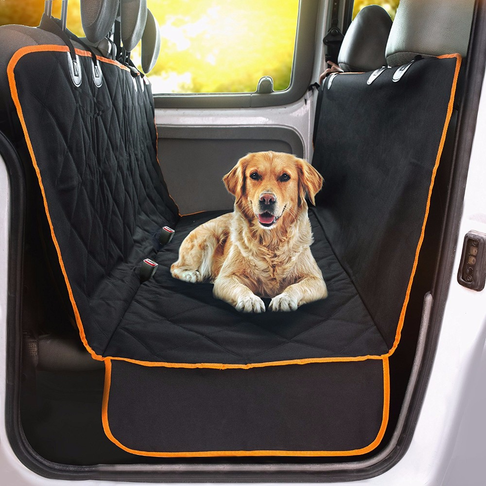 Pet Car Rear Back Seat Cover Pet Dog Cat Auto Protector Waterproof Hammock Mat