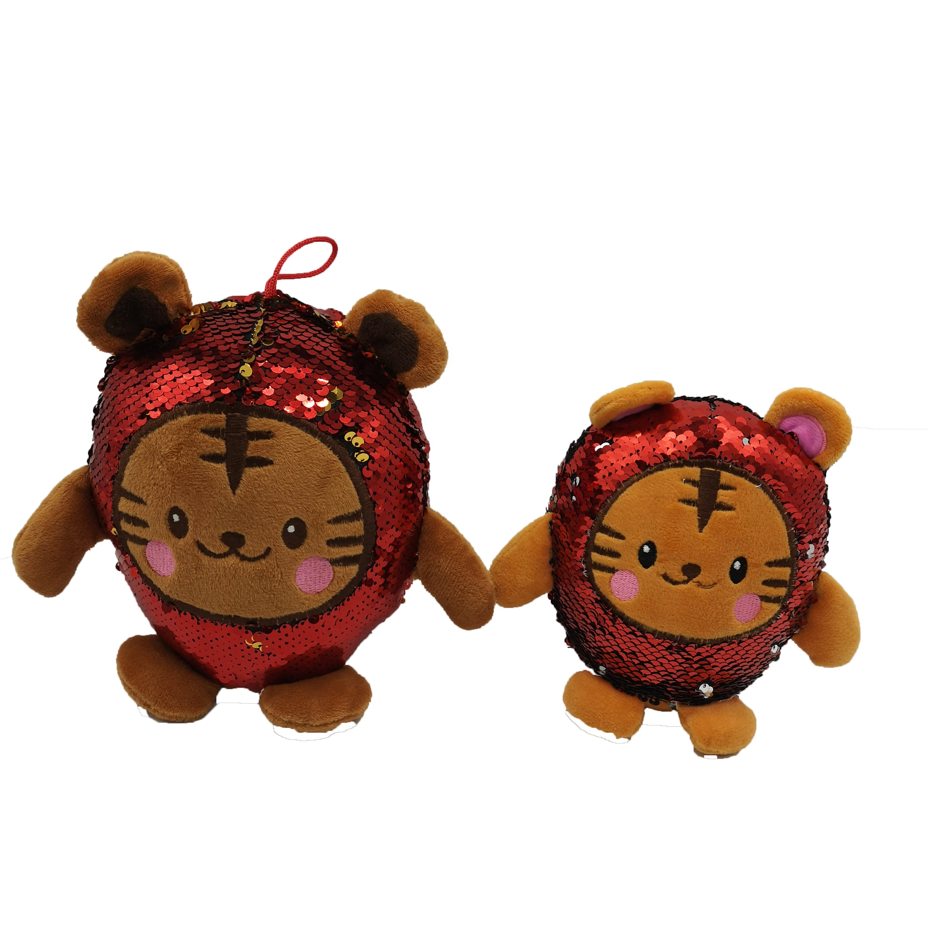 Manufacture new design soft stuff plush toys sequin <strong>animals</strong> for kids gift