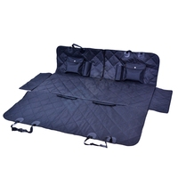 OEM Waterproof Foldable Outdoor Pet Dog Cover Protector 600D Oxford Fabric Pet Vehicle Mat Blanket Car Dog Hammock For Back Seat