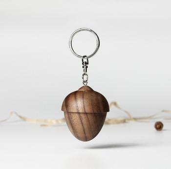 Wooden Acorn Custom Logo Keychain Ice Age Film Keychain - Buy ... d07c0345f4c9