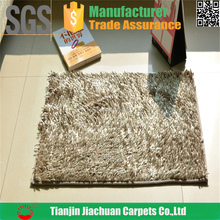 machine washable chenille shaggy absorb water floor mat