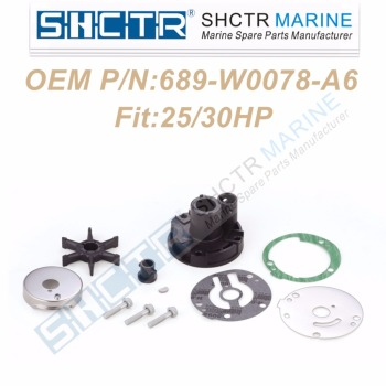 OEM Water Pump & Impeller Kit for 689-W0078-A6 18-3427 25/30HP