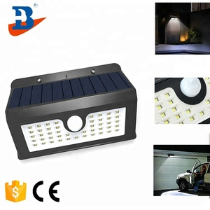 Wall mounted Solar Light Motion Sensor Outdoor
