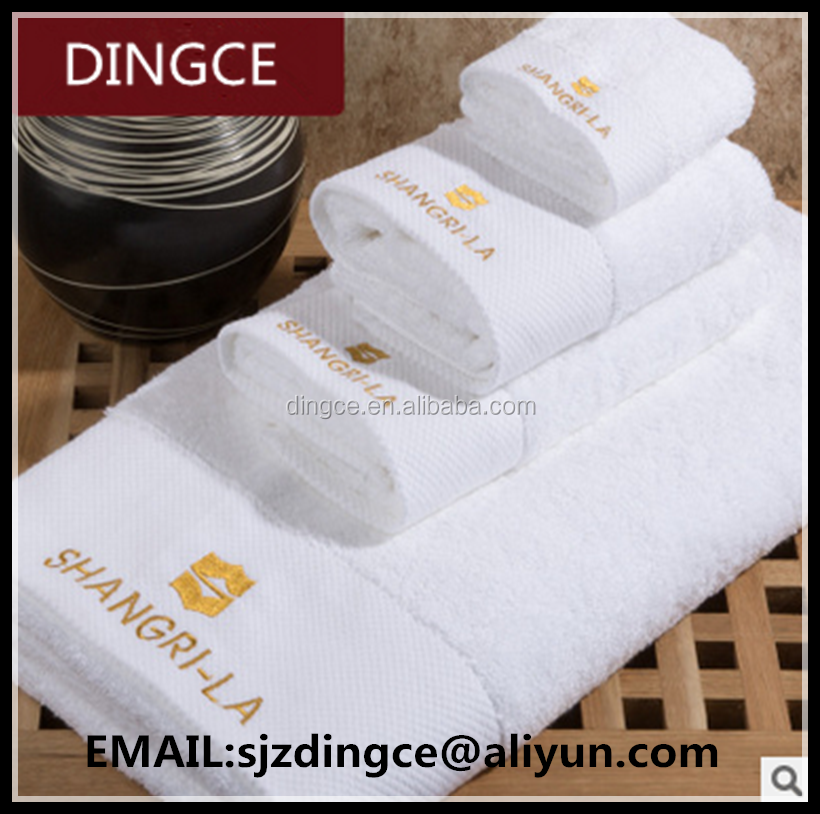 100% microfiber bath towel with embroideried <strong>logo</strong>
