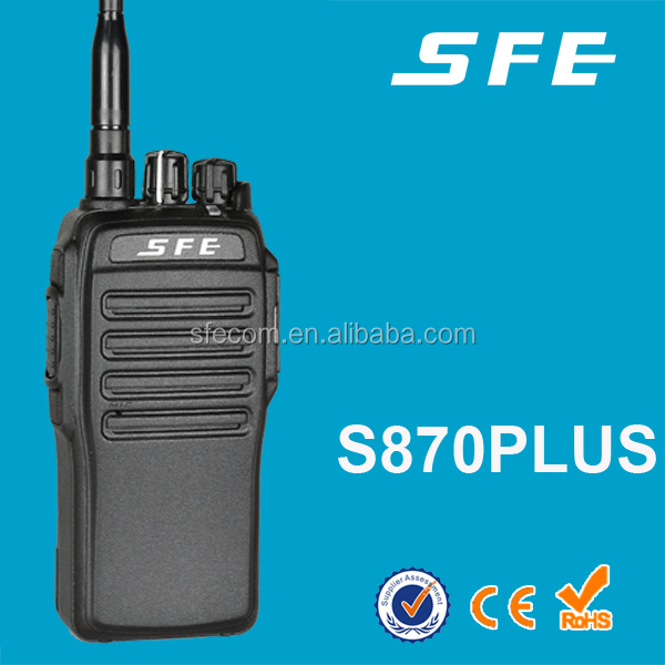 SFE S870PLUS Poderosa uhf 10 W 16CH Walkie Talkie 2600 mAh IP66
