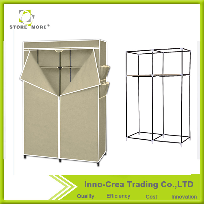 Store More Non-woven Wdrobe Dressing Table Designs Portable Folding Clothes Closet Wardrobe
