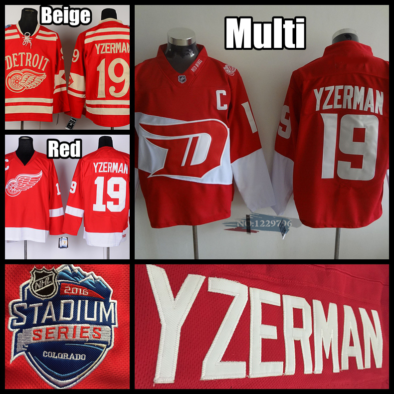 5ff46b577 ... AliExpress Detroit Datsyuk Hockey Jerseys 19 Steve Yzerman Jersey CCM  Vintage Red Throwback White Black Ice Red Wings ...