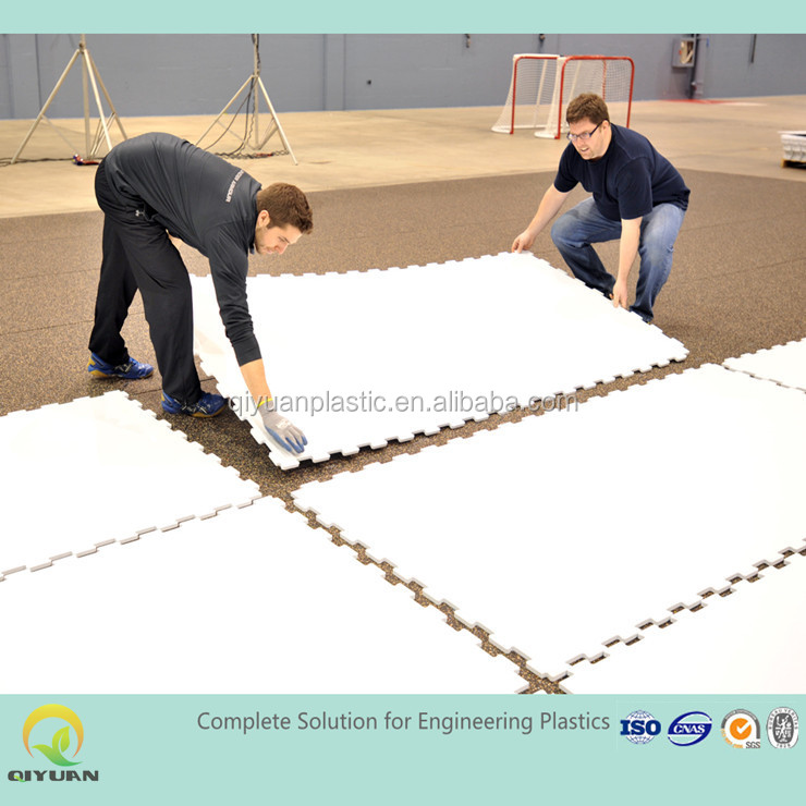 uhmwpe or HDPE synthetic ice skating rink and ice hockey rink