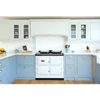 Modular Water Proof Whole Set Blue Kitchen Cabinet - Buy ...