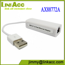 Linkacc-Etn1 AX88772A Plugable USB 2.0 to RJ45 Ethernet Lan Network Adapter