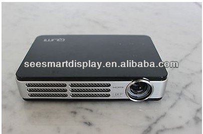 WiFi DLP Mini HDMI 3D-Ready Full HD 720p Pocket DLP Projector for home theater