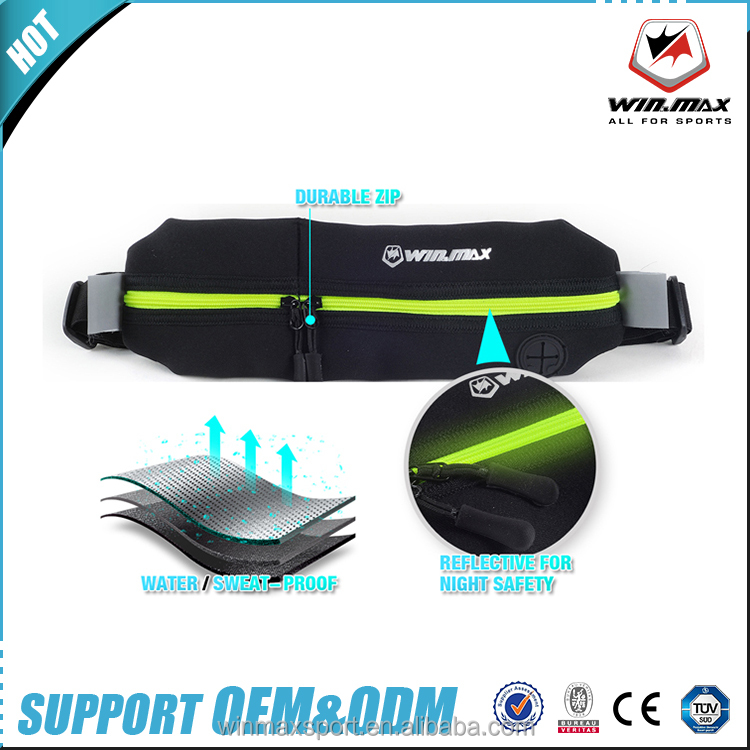 New Unisex Gym Fitness Sports Jogging Cycling Elastic Running Waist Bag Pack