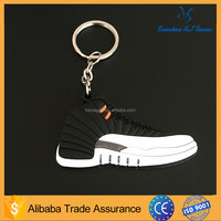 wholesale air jordan aj12 bred shoes keychain running shoes key chains