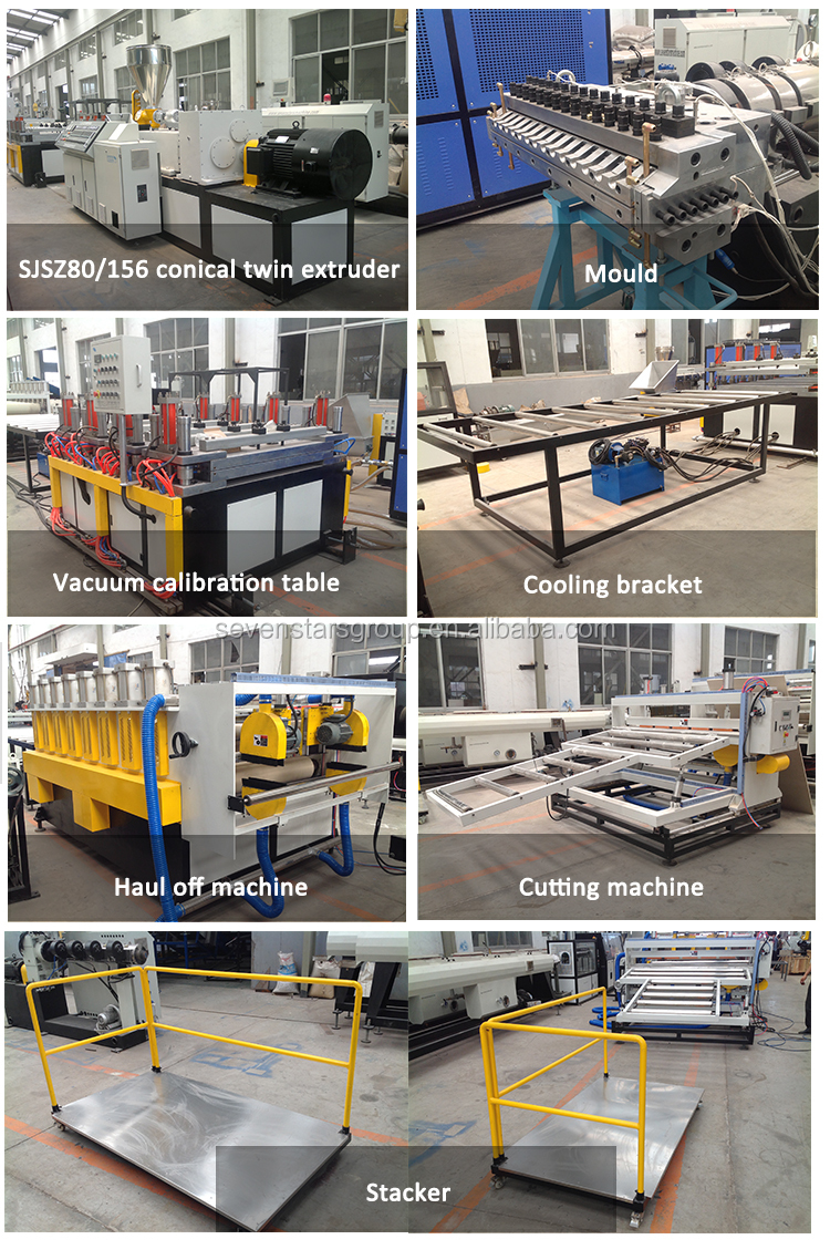 2016 Chinese new style PVC foam board production line