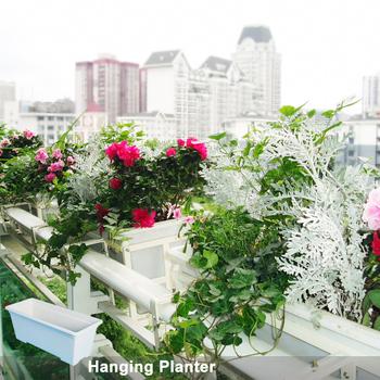 Fiori Bianchi In Vaso.Bianco Pot Di Plastica Piccolo Vaso Di Fiori Di Plastica Vassoi