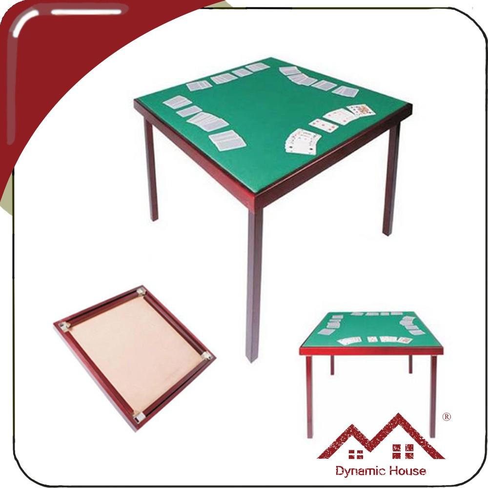 Pliable en bois pont table tables de jeu id de produit for Table bridge