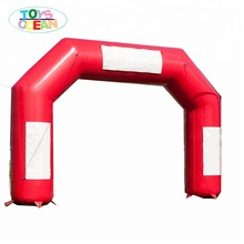 High Quality Custom Branded inflatable entrance arch running race finish line arch