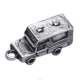 High Quality 3D Small Charms Antique Silver Plated Touring Car Shape Pendant Travel Souvenir Gifts Truck Charm