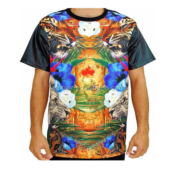Promotional Hot Sale Sublimation T Shirts Short Sleeve tee shirt for Men