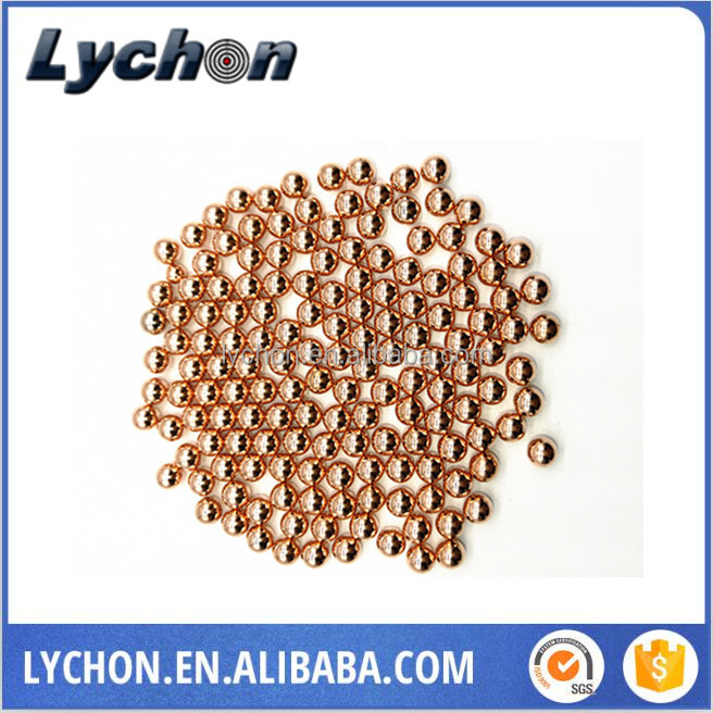 4.38mm 4.4mm 4.5mm copper plated 1500pcs/bottle steel ball bearing ball