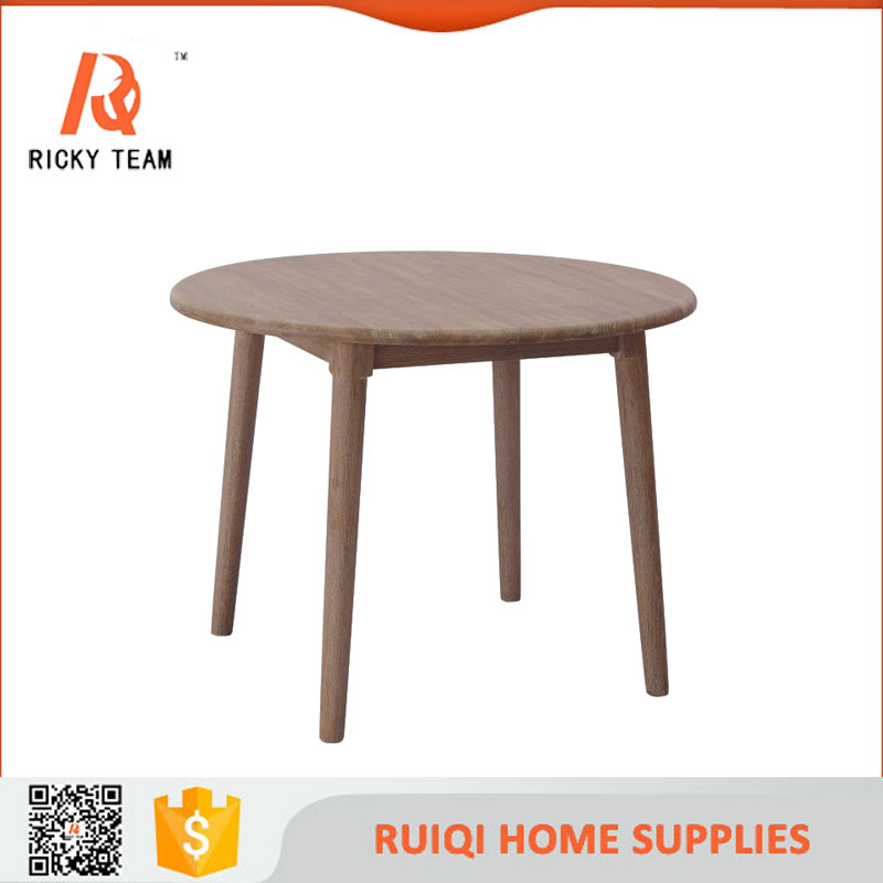 Durable walnut furniture kashmir dining table round center table