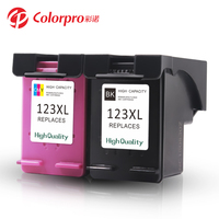 Colorpro 123 XL cartridge compatible for HP DeskJet 2130 Printer 123XL Replacement Inkjet Cartridge
