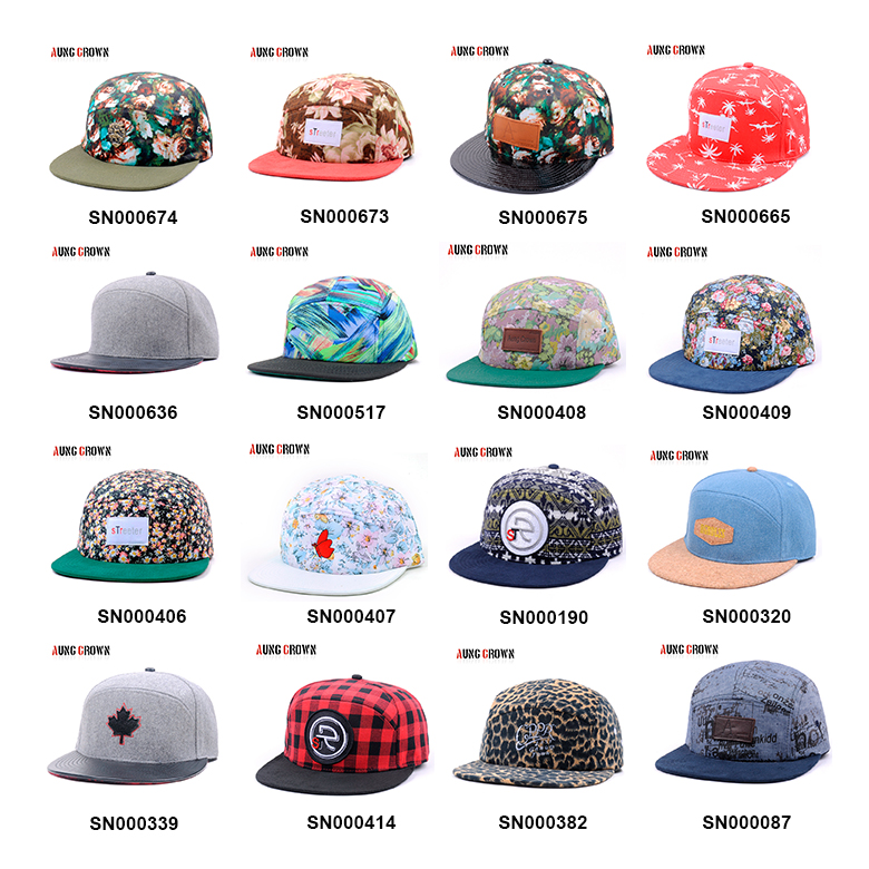 ad52205ee52ff9 Custom 5 panel hat sewing pattern unstructured 5 panel snapback hat ...