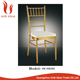 Hot sale hotel banquet gold tiffany chivari chair for outdoor wedding