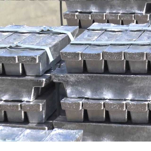 99.99% high purity lead ingot manufacturer