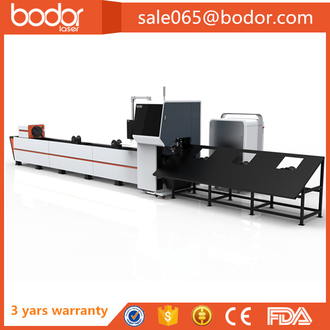 cnc specialised 3d laser metal cutting machine for tube with engineers available over seas