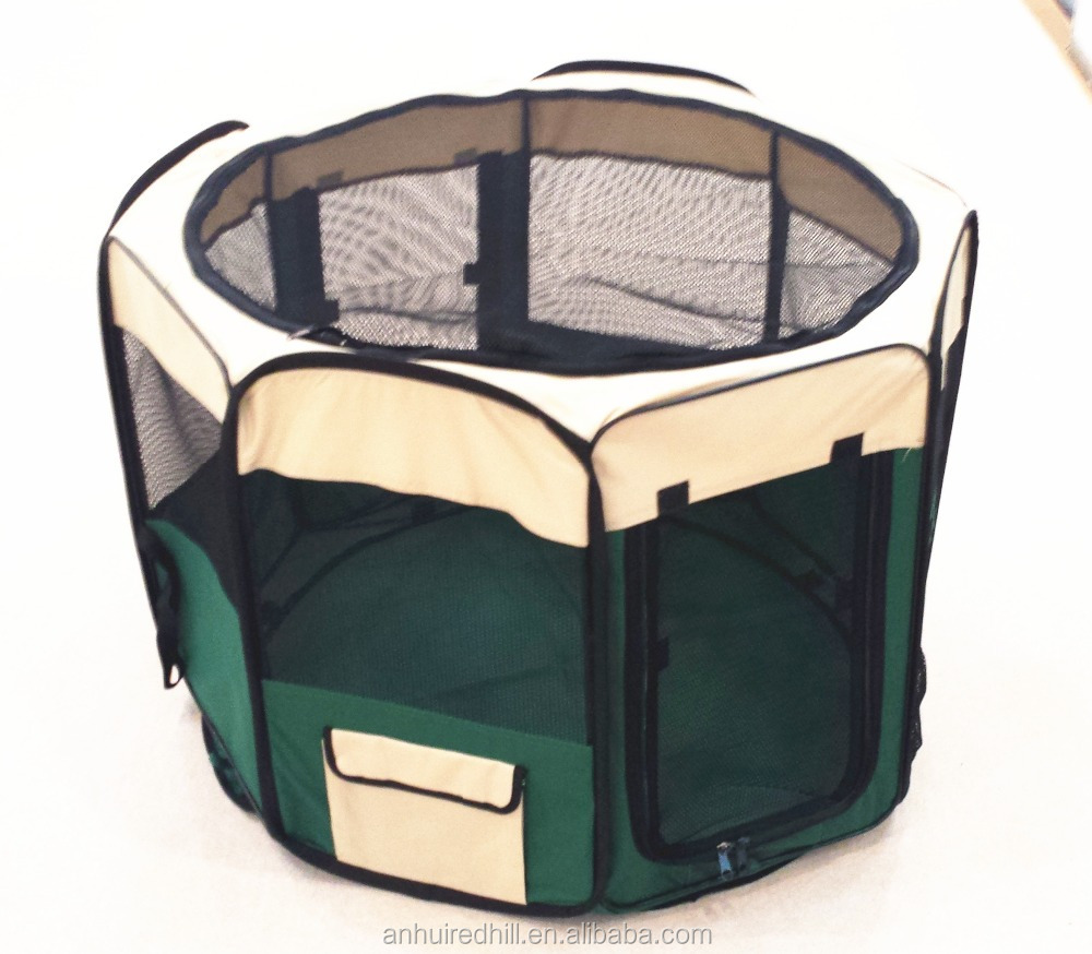 Large foldable dog carrier pet carrier pet playpen