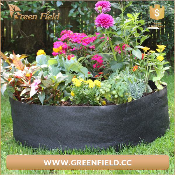 Hydroponics Fabric Root Poly Pot Garden Vegetable FlowerPlant Grow Bag Container