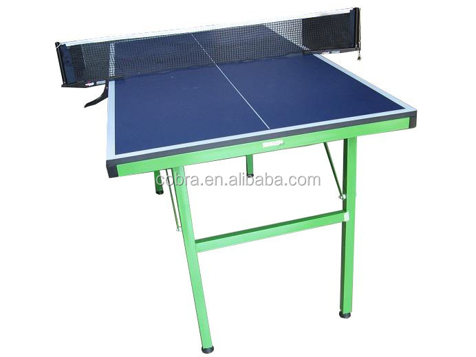 Kbl 12t06 Double Wolf Table Tennis Table With Metal Folding Legs,12mm  Thinckness Mdf Table Top,Mini Tennis Table For Child   Buy Mini Table  Tennis Table ...
