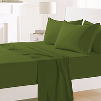 Luxury High Quality 100% Bamboo Fiber Bed Sheet Bedding Set Sheets Bed Set/Sheets For Bed