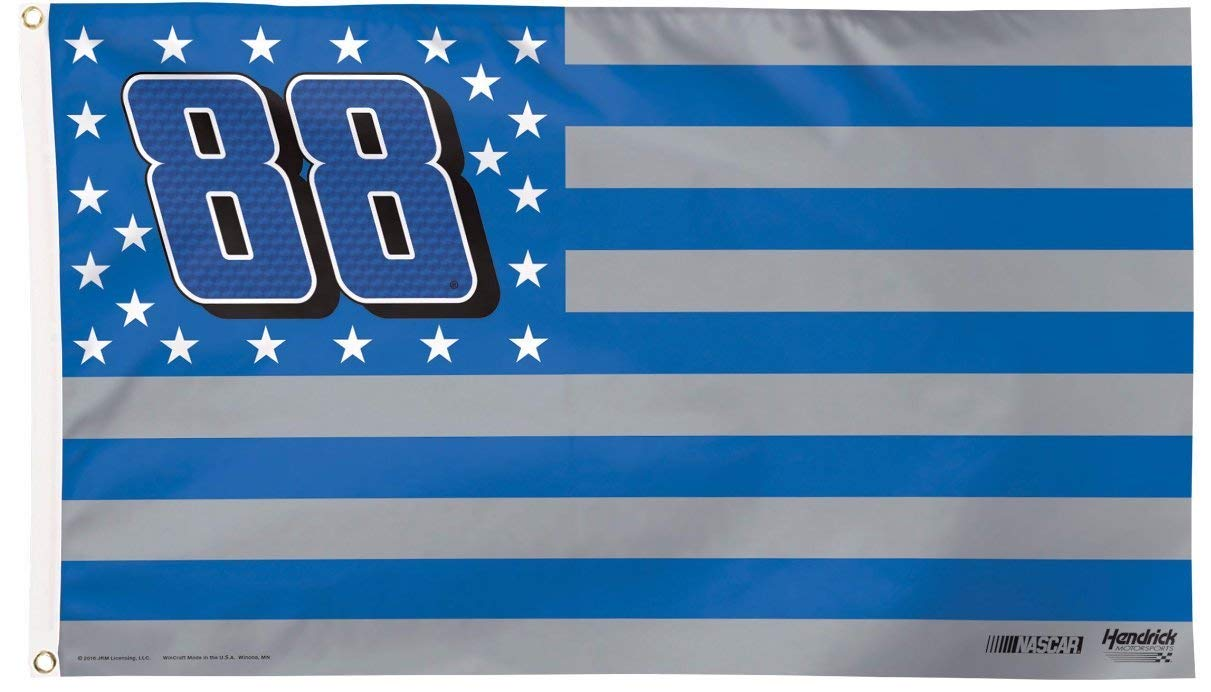 NASCAR Dale Earnhardt Jr. #88 Deluxe Flag