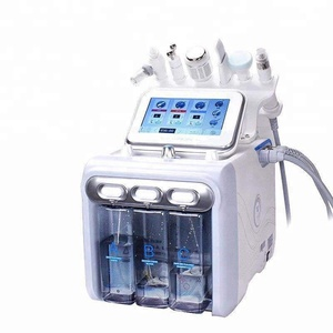 professional microdermabrasion H2O2 aqua facial peeling Oxygen inject skin care machine