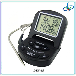 New Design Digital Wireless Food bbq Thermometer with Dual Probes for Meat, BBQ, Grill, Oven, Kitchen Use