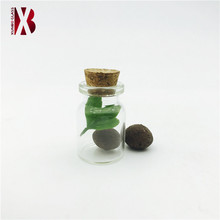 5 ml 10 ml 15 ml clear wishing glass bottle vials with cork for gift