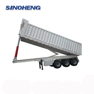 Hot sale high quality China best dump tipper semi trailer price for sale