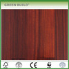 Wear-resistant Okan Carbon red color Flat Solid Wood Flooring