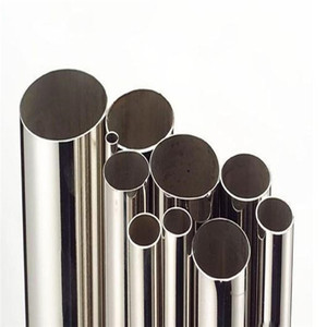 Mirror Polish Hairline stainless steel tube 201 304 316 For Decoration