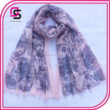 customize wholease stylish air ballon scarf