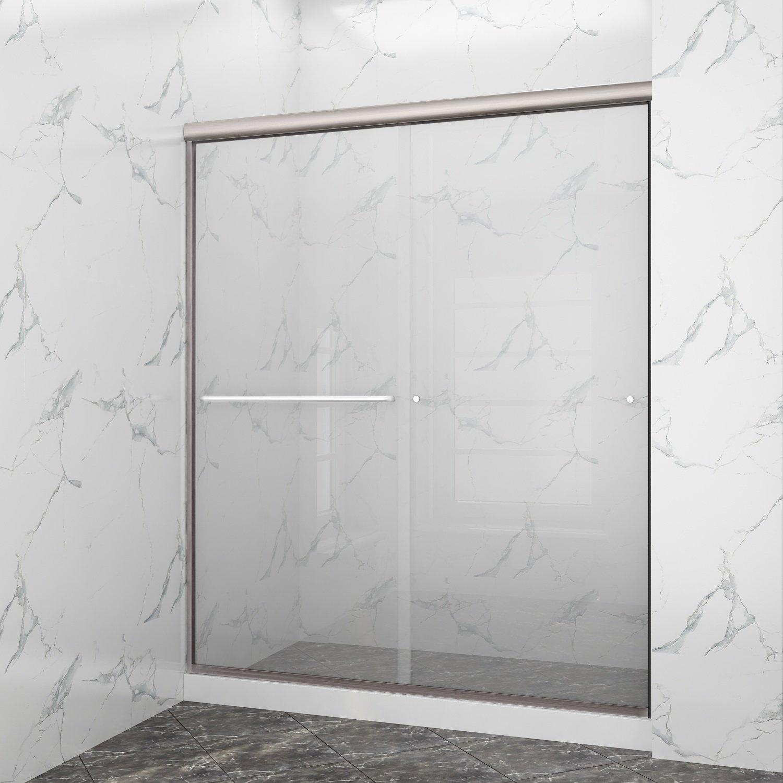 Buy Crl Brite Anodized 72 Frameless Sliding Shower Door Bottom