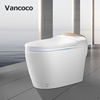 Vancoco Smile 3 smart home system bathroom warm air drying electric heated toilet bidet tolite factory in China