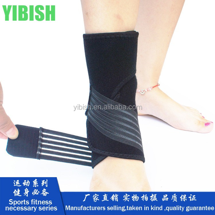 YIBISH Adjustable Ankle Support Strap Wrap protection ankle belt strap#HH0001