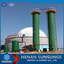 International leading new energy supplier industrial biogas machine