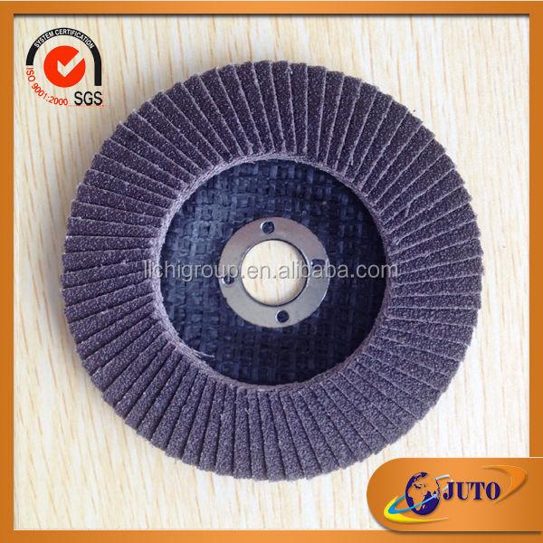 China Super Grit Tungsten Carbide Flap Discs 100x16 Mm Flexible ...